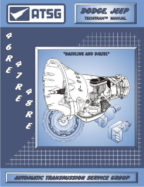 ATSG 12400F Dodge/Jeep 46RE 47RE 48RE Chrysler 1996-Up Transmission Manual