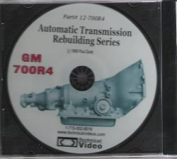 GM 700R-4 (1982-1992) Transmission Rebuilding DVD