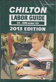 2013 Chilton Labor Time Guide CD-ROM: Domestic & Import