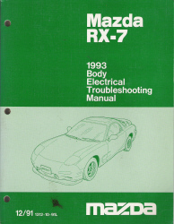 1995 Mazda RX-7 Body Electrical Troubleshooting Manual