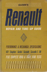 1957 - 1964 Renault Chilton/Glenns Repair and Tune-Up Guide