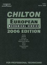 2006 Chilton's European Mechanical Service Manual - (2002 - 2005 year coverage)