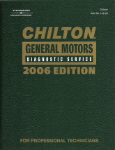 2006  Chilton General Motors Diagnostic Service Manual, (1995 - 2005 year coverage)