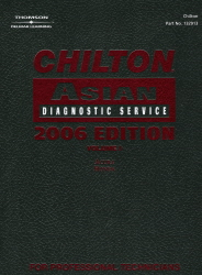 2006 Chilton Asian Diagnostic Service Manual Set, 3 Volumes, (1996 - 2005 year coverage)