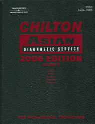2006 Chilton Asian Diagnostic Service Manual, Volume 3, (1996 - 2005 year coverage)