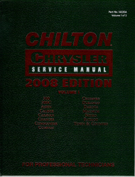 2008 Chilton's Daimler Chrysler Service Manual - Volume 1