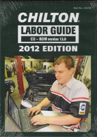 2012 Chilton Labor Time Guide CD-ROM: Domestic & Import