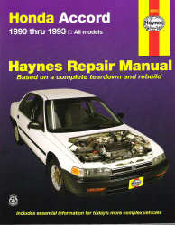 1990 - 1993 Honda Accord Haynes Repair Manual