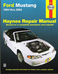 1994 - 2004 Ford Mustang, Haynes Repair Manual
