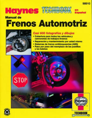 Manual de Frenos Automotriz Haynes Techbook - Brake