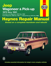 1972 - 1983 Jeep Cherokee & Wagoneer, 1984 - 1991 Grand Wagoneer & 1972 - 1988 J-Series Pick-up Haynes Repair Manual