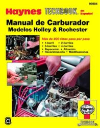 Manual de Carburador Modelos Holley & Rochester Haynes Techbook