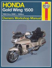 1988 - 2000 Honda Gold Wing GL1500 Haynes Repair Manual