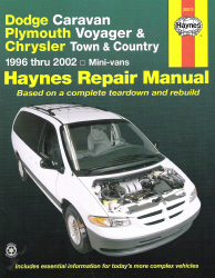 1996 - 2002 Dodge Caravan, Plymouth Voyager and Chrysler Town & Country Haynes Repair Manual