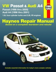 1996 - 2005 Volkswagen Passat & Audi A4 Haynes Repair Manual