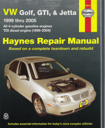 1999 - 2005 VW Golf, GTI & Jetta Haynes Repair Manual