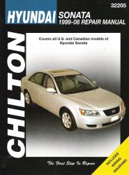 1999 - 2008 Hyundai Sonata Chilton's Total Car Care Manual