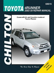 2003-2009 Toyota 4Runner Chilton's Total Car Care Manual