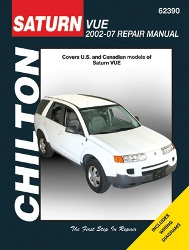 2002 - 2007 Saturn Vue Chilton's Total Car Care Manual