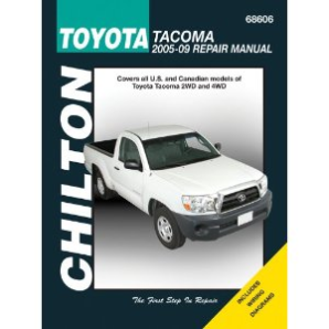 2005 - 2009 Toyota Tacoma Chilton's Total Car Care Manual