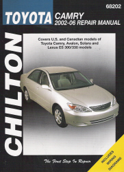 2002 - 2006 Toyota Camry, Chilton's Total Car Care Manual - Softcover