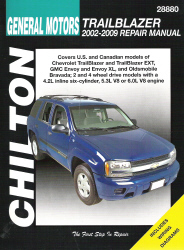 2002 - 2009 Chevrolet Trailblazer, GMC Envoy & Oldsmobile Bravada, Chilton's Total Car Care Manual