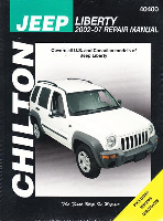 2002 - 2007 Jeep Liberty Chilton's Total Car Care Manual