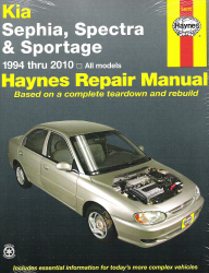 1994 - 2010 Kia Sephia, Spectra and Sportage Haynes Repair Manual