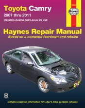 2007 - 2011 Toyota Camry, Avalon & Lexus ES 350 Haynes Repair Manual
