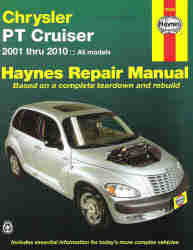 2001 - 2010 Chrysler PT Cruiser Haynes Repair Manual