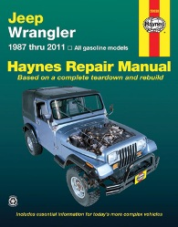 1987 - 2011 Jeep Wrangler Haynes Repair Manual