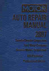 2003 - 2007 MOTOR Domestic Auto Repair Manual ABS/Electrical Volume 2, 70th Edition