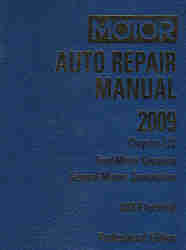 2005 - 2009 MOTOR Domestic Auto Repair Manual ABS/Electrical Volume 2, 72nd Edition