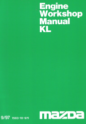 1997 Mazda KL Factory Engine Workshop Manual