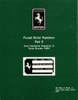 Ferrari Serial Numbers Part II