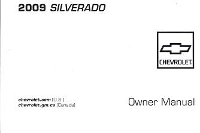 2009 Chevrolet Silverado Owner's Manual
