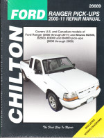 2000 - 2011 Ford Ranger & 2000 - 2009 Mazda B-Series Pick-Ups Chilton Total Car Care Manual