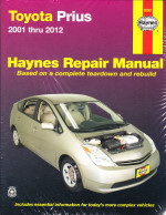 2001 - 2012 Toyota Prius Hybrid, Haynes Repair Manual