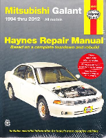 1994 - 2012 Mitsubishi Galant Haynes Repair Manual