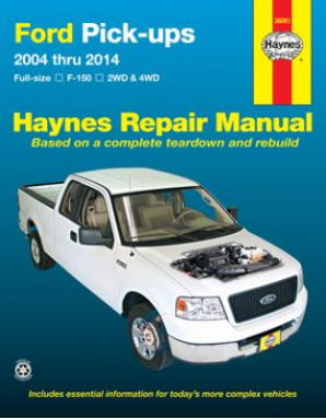 2004 - 2014 Ford F150 Pick-Ups 2/4WD Haynes Repair Manual