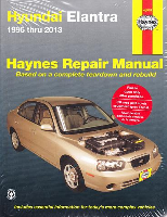 1996 - 2013 Hyundai Elantra All Models, Haynes Repair Manual