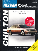 1993 - 2008 Nissan Maxima Chilton's Total Car Care Manual