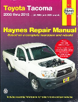 2005 - 2015 Toyota Tacoma Haynes Repair Manual