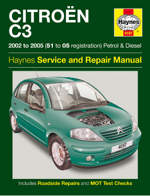 2002 - 2005 Citroen C3 Haynes Repair Manual