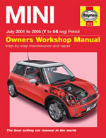 2001 - 2006 Mini Cooper Haynes Service And Repair Manual