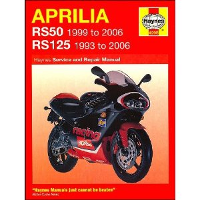 1993 - 2006 Aprilia RS125 & 1999 - 2006 RS50 Haynes Repair Manual