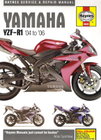 2004 - 2006 Yamaha YZF-R1 Haynes Repair Manual