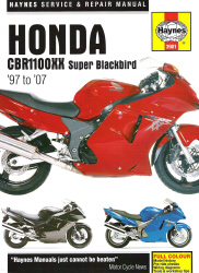 1997 - 2007 Honda CBR1100XX Super Blackbird Haynes Repair Manual