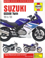 1989 - 2008 Suzuki GS500 Twin Haynes Repair Manual
