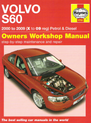 2000 - 2009 Volvo S60 Gas Diesel Haynes Owner's Workshop Repair Manual